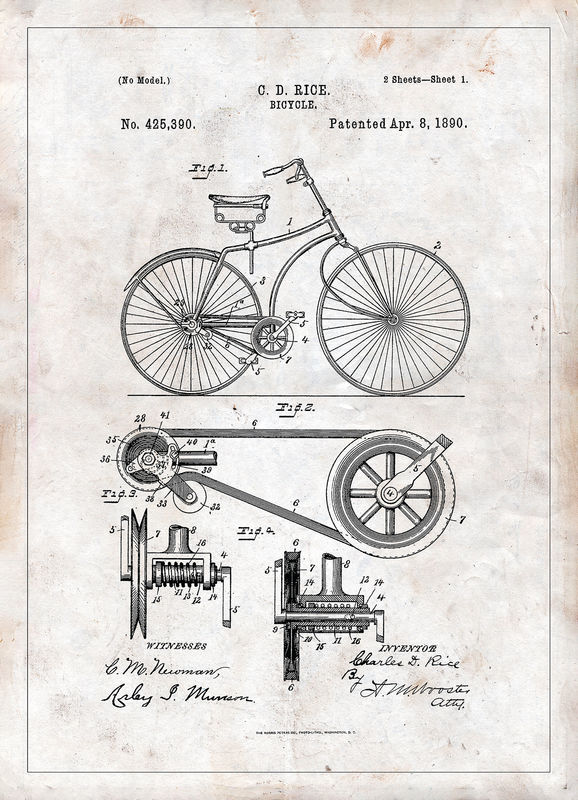 PATENT DRAWING Kort