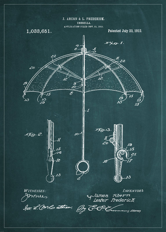 PATENT DRAWING Poster
